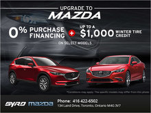 Experience Mazda's Monthly Sales Event!