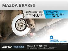 Mazda Brakes