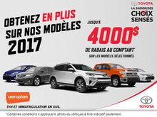 La saison des choix sensés chez Toyota!