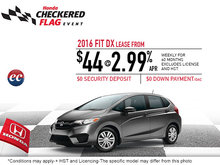 Save on the 2016 Honda Fit Today!