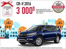 Économisez sur la Honda CR-V 2016 dès aujourd'hui!