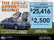 Get the 2017 Subaru Legacy