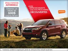 Économisez avec Toyota durant le Salon de l'Auto d'Ottawa
