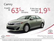 Économiser sur le Toyota Camry 2017