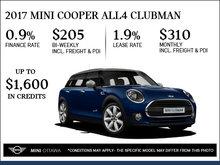 2017 MINI Cooper ALL4 Clubman