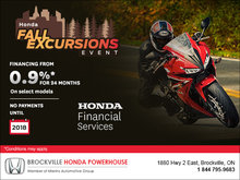 Honda's Fall Excursions Event