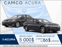 Obtenez une Acura chez Camco Acura