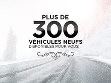 Plus de 300 véhicules neufs!