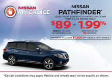 2017 Nissan Pathfinder at Morrey Nissan