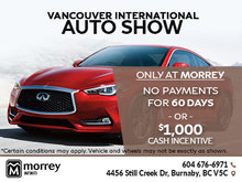 Save During the Vancouver International Auto Show!