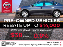 Save Big on Pre-Owned Vehicles at Morrey Nissan of Coquitlam
