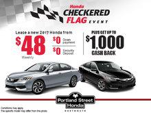 The Honda Checkered Flag Event!