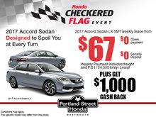 Big Savings on the New 2017 Accord Sedan!