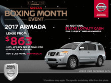 Get the 2017 Nissan Armada Today!