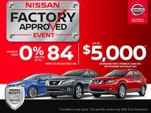 Nissan's Factory Approved Event!