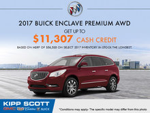 Get the 2017 Buick Enclave Today!