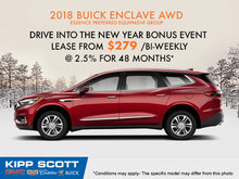 Get the 2018 Buick Enclave Today!
