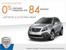 Get the 2016 Buick Encore Today!
