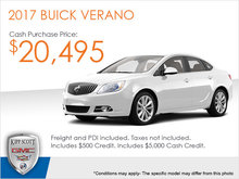 Get the 2017 Buick Verano Today!