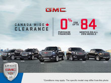 Save Big During GMC's Canada-Wide Clearance Event!