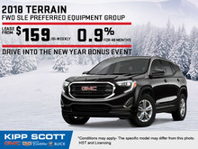 Save Big on the 2018 GMC Terrain Today!