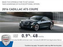Big Savings on the 2016 ATS Coupe!