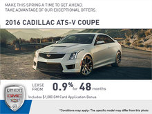 Drive Home in the 2016 ATS-V Coupe!