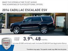 Save Big on the 2016 Escalade ESV!
