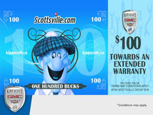Get $100 Towards an Extended Warranty!