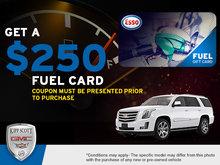 Get a $250 Fuel Card