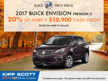 Save on the 2017 Buick Envision Today!