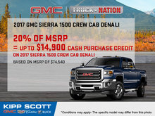 Save Big on the 2017 GMC Sierra 1500 Today!