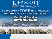 Get a Free Tire Rotation, Go for a Test Drive!