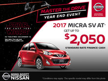 Save on the 2017 Micra!