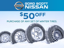 Save $50 on Winter Tires!