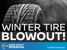 Winter Tire Blowout!