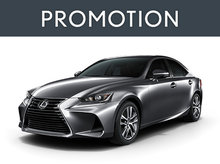Lexus IS neuf en promotion à Montréal