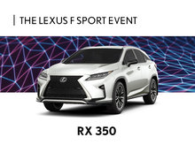 New Lexus RX Promotion in Montreal