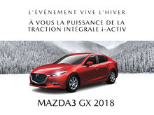 Mazda3 neuf en promotion à Lachine