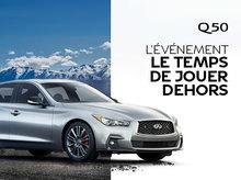 INFINITI Q50 NEUF EN PROMOTION À MONTRÉAL