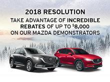 Mazda Demo Sales Event