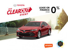 2018 Clearout Event at Spinelli Toyota