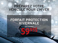 Préparez votre véhicule pour la saison froide