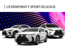 L'Événement F Sport de Lexus
