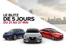 Le Blitz de 5 jours de Nissan