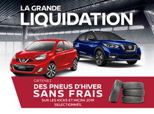 La Grand Liquidation Nissan - Offre Pneus d'hiver