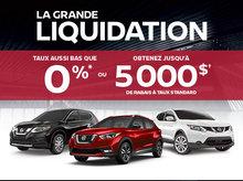 L'Événement Grande Liquidation Nissan
