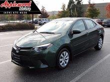 2015 Toyota Corolla L  - $116.29 B/W