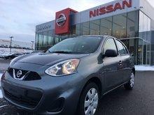 Nissan Micra VERSION S  BASE UN SEUL PROPRIÉTAIRE VÉHICULE CER 2017
