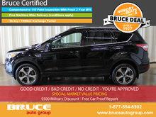 2017 Ford Escape SE 1.5L 4 CYL ECOBOOST AUTOMATIC 4WD